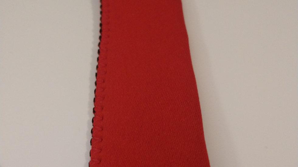 Red popsicle holder
