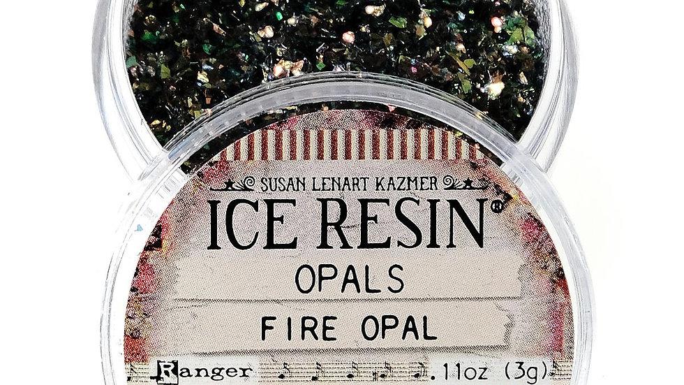 Ice Resin Fire Opal