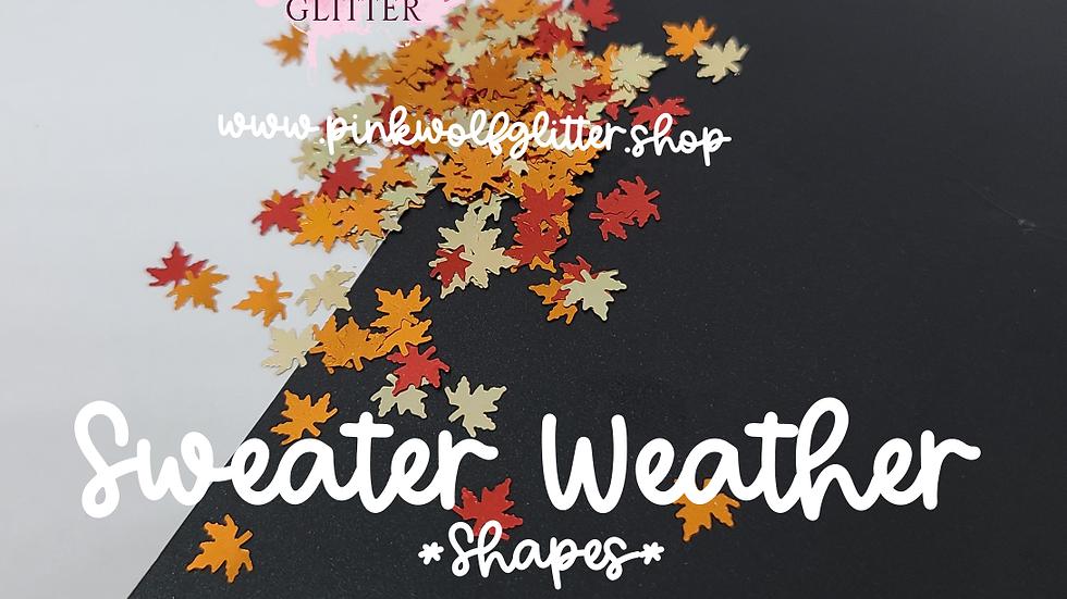 Sweater Weather (leaf shape)