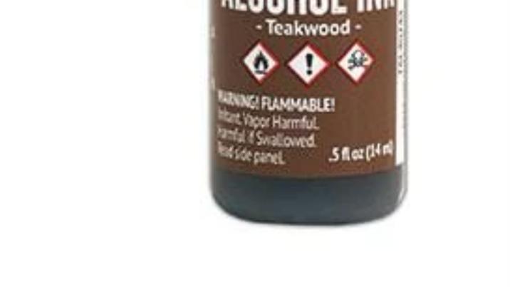 Tim Holtz Alcohol Ink-Teakwood