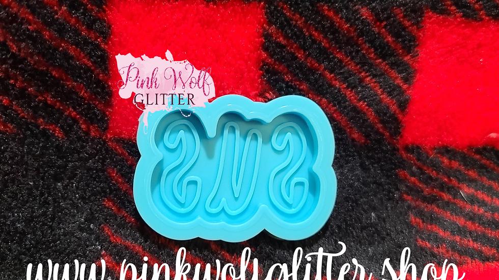 Amongus SUS Badge Reel Phone Grip size mold