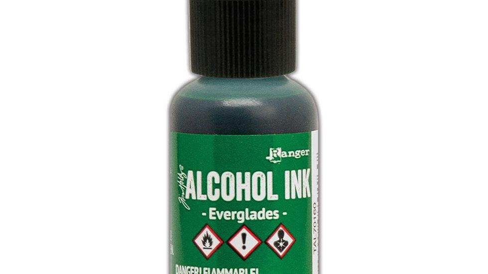 Tim Holtz Alcohol Ink- Everglades