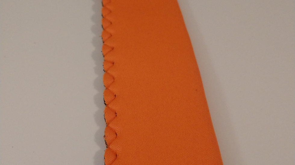 Orange popsicle holder