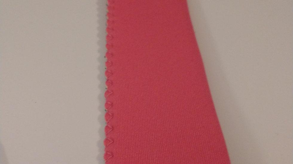 Pink popsicle holder
