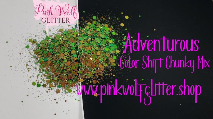 Adventurous *Color Shift Chunky Mix*