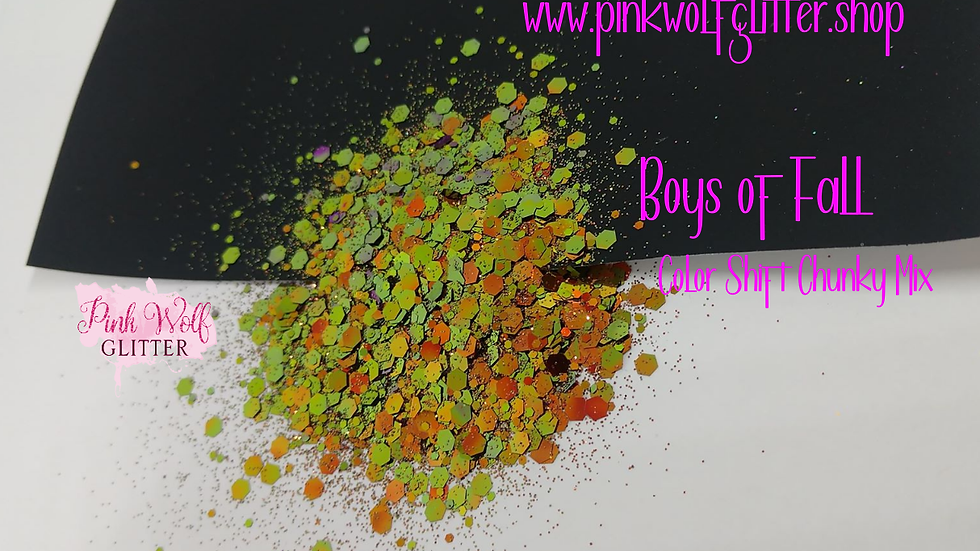 Boys of Fall *Color Shift Chunky Mix*