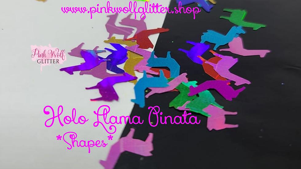 Holo Llama Pinata *Shapes*