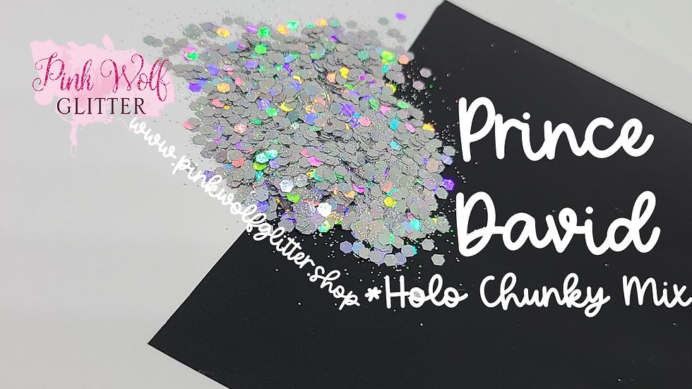 Prince David Holo Chunky Mix