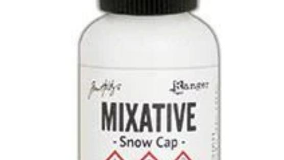 Tim Holtz Snow Cap Mixative
