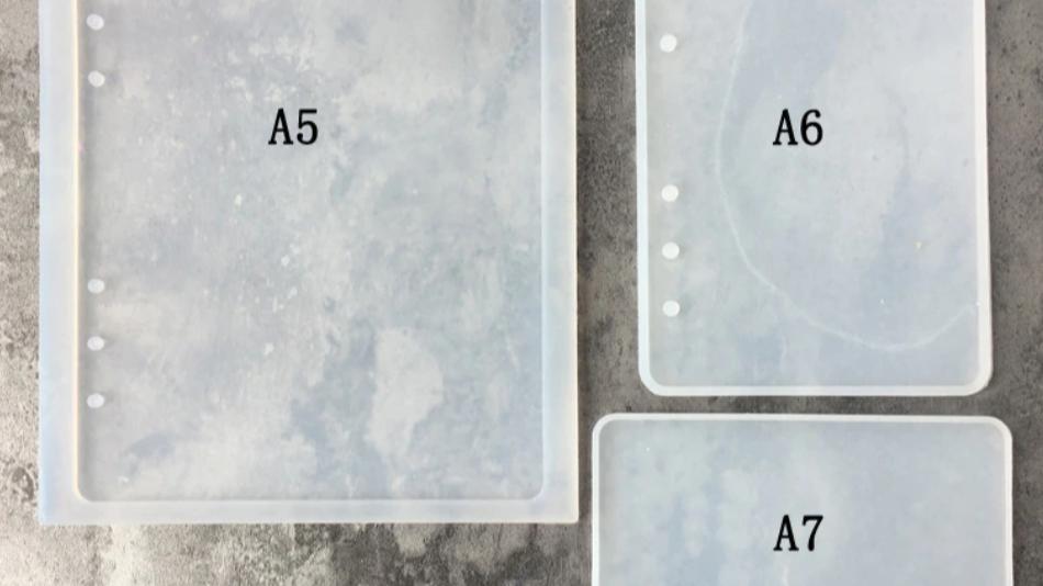 Notebook molds (Set of 3)