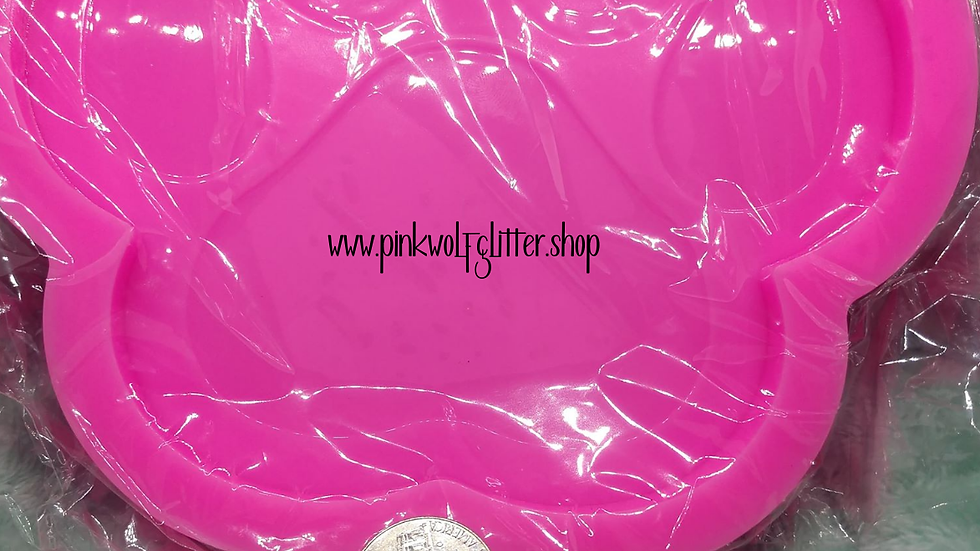 Paw Coaster Silicone Mold