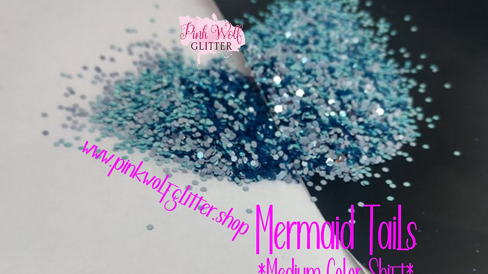 Mermaid Tails *Medium Color Shift*