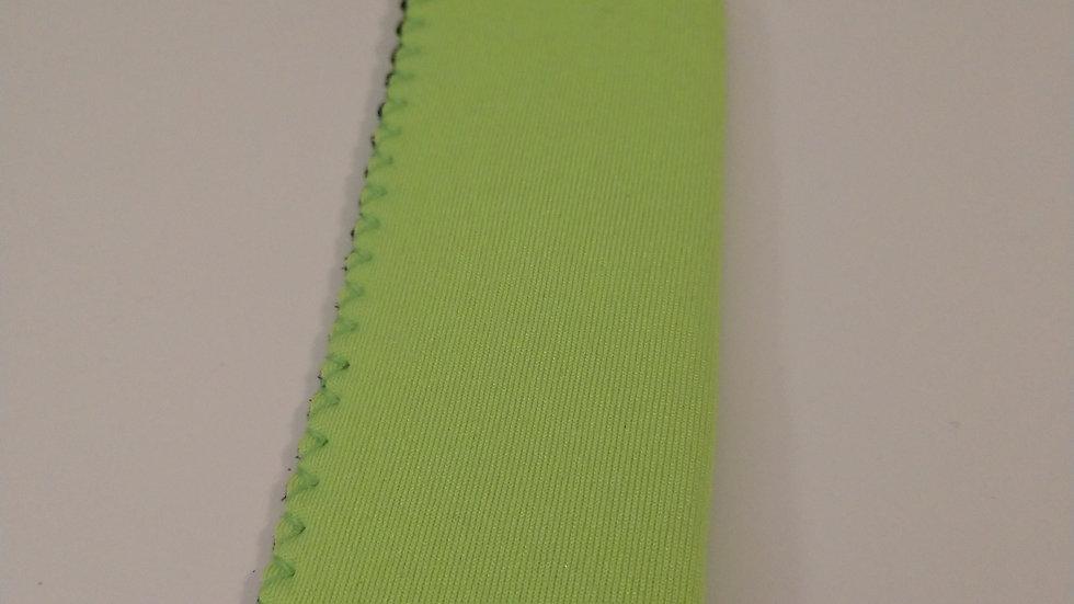 Lime green popsicle holder