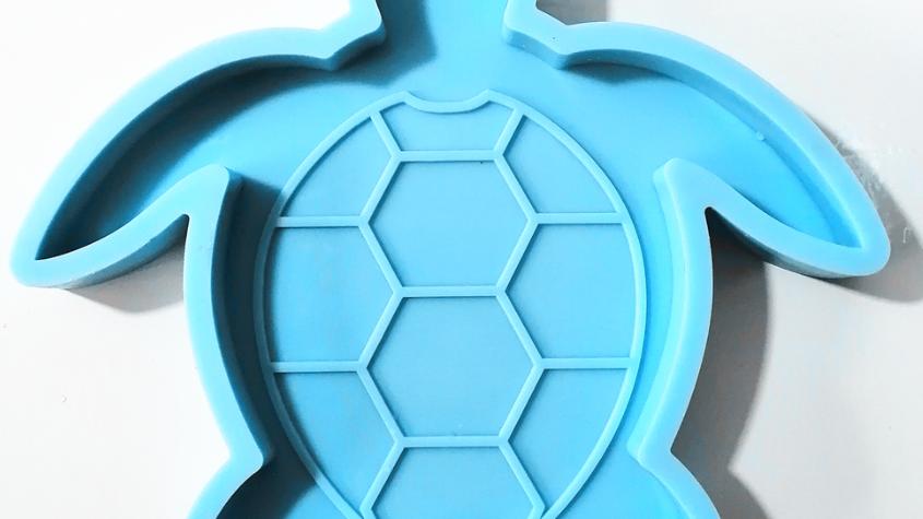 Turtle Coaster Silicone Mold