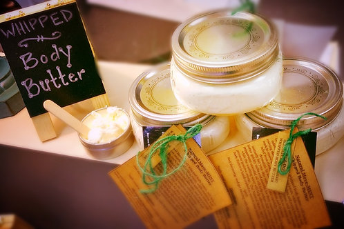 8oz Whipped Body Butter ~ MOVE-Mint
