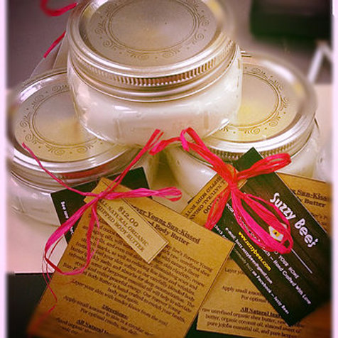 4 oz Whipped Body Butter ~ Forever Young Sun-Kissed