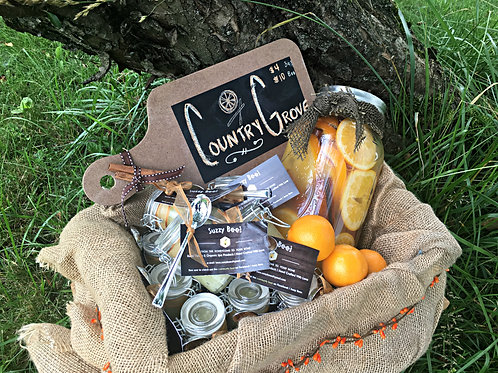 Country Grove Organic Body Scrub - 8oz