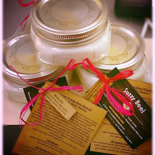 8 oz Whipped Body Butter ~ Forever Young Sun-Kissed