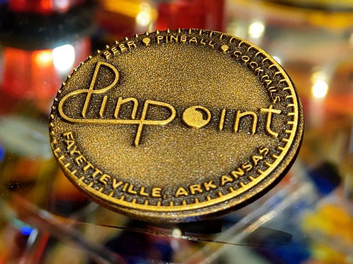 Pinpoint Enamel Pin