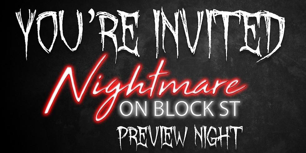 Nightmare on Block Street Preview Night