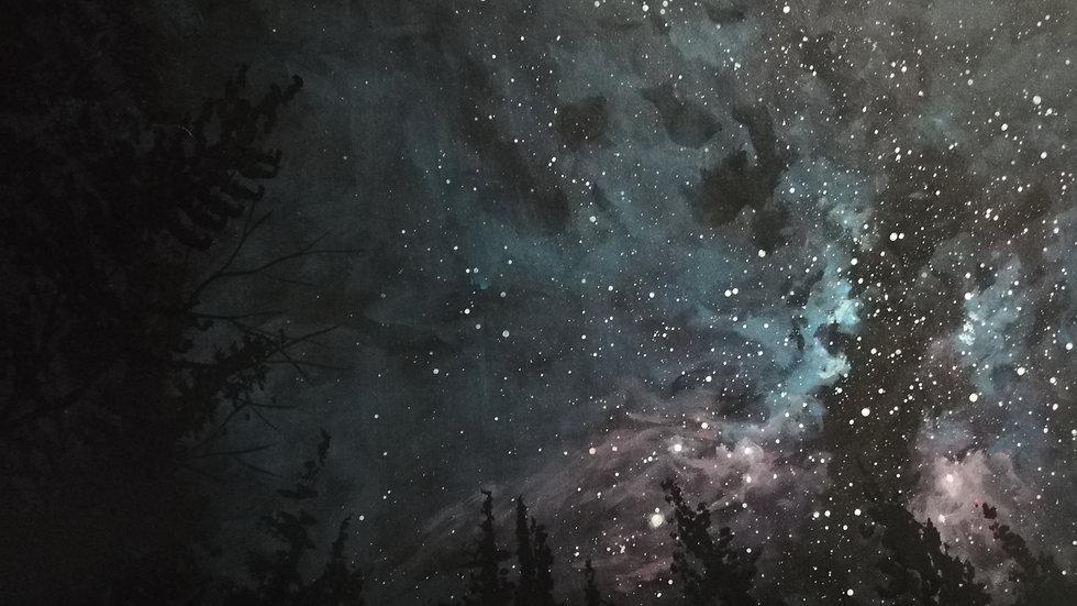 Skies at night