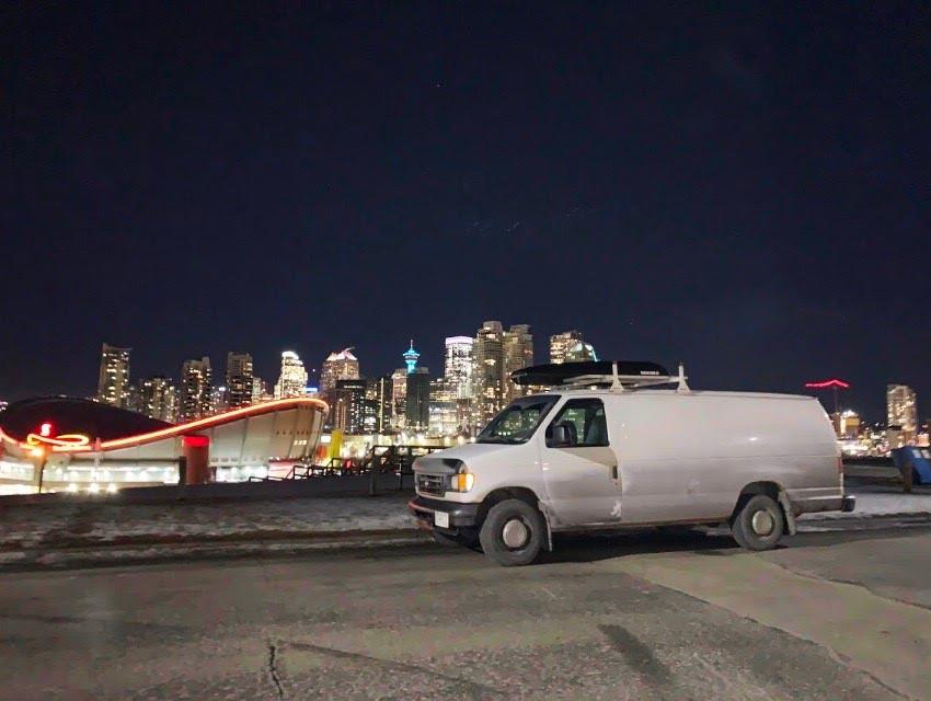 Location de van à Calgary