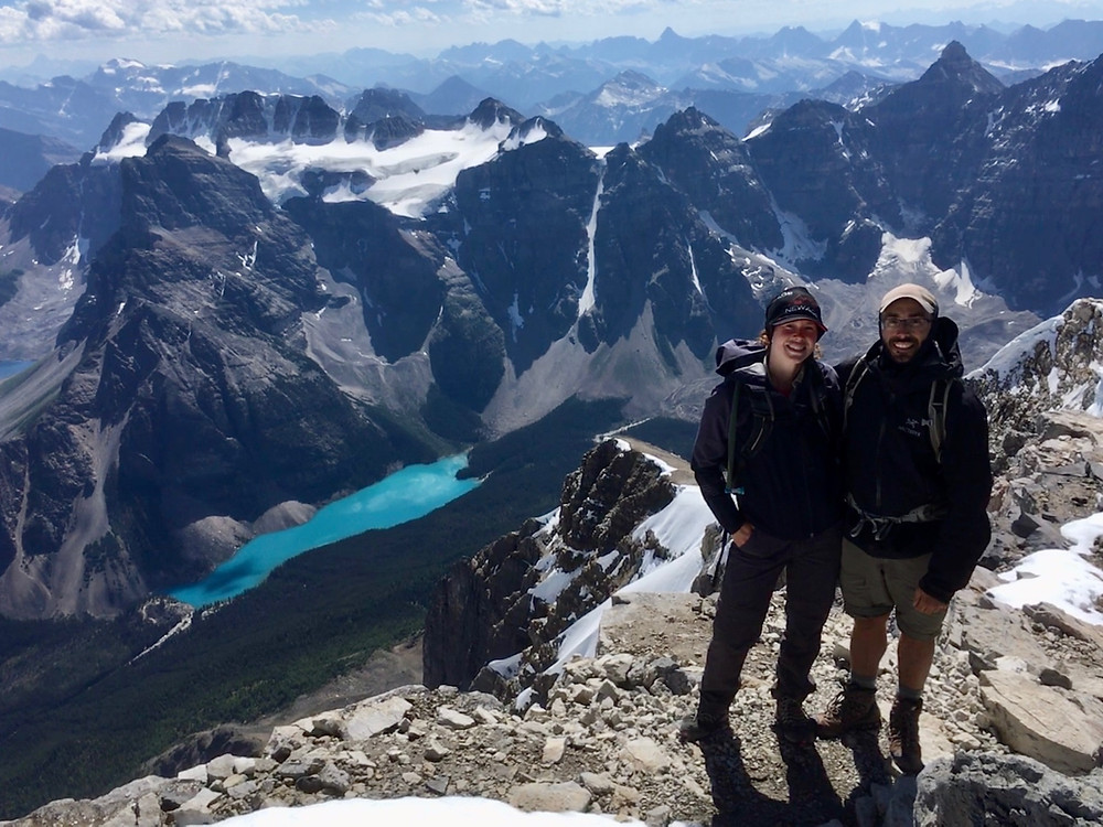 Hiking adventures in the canadian rockies with New Age Travel and Services