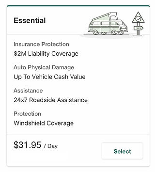 Essential Insurance Package that provide an additional Roadside Assistance