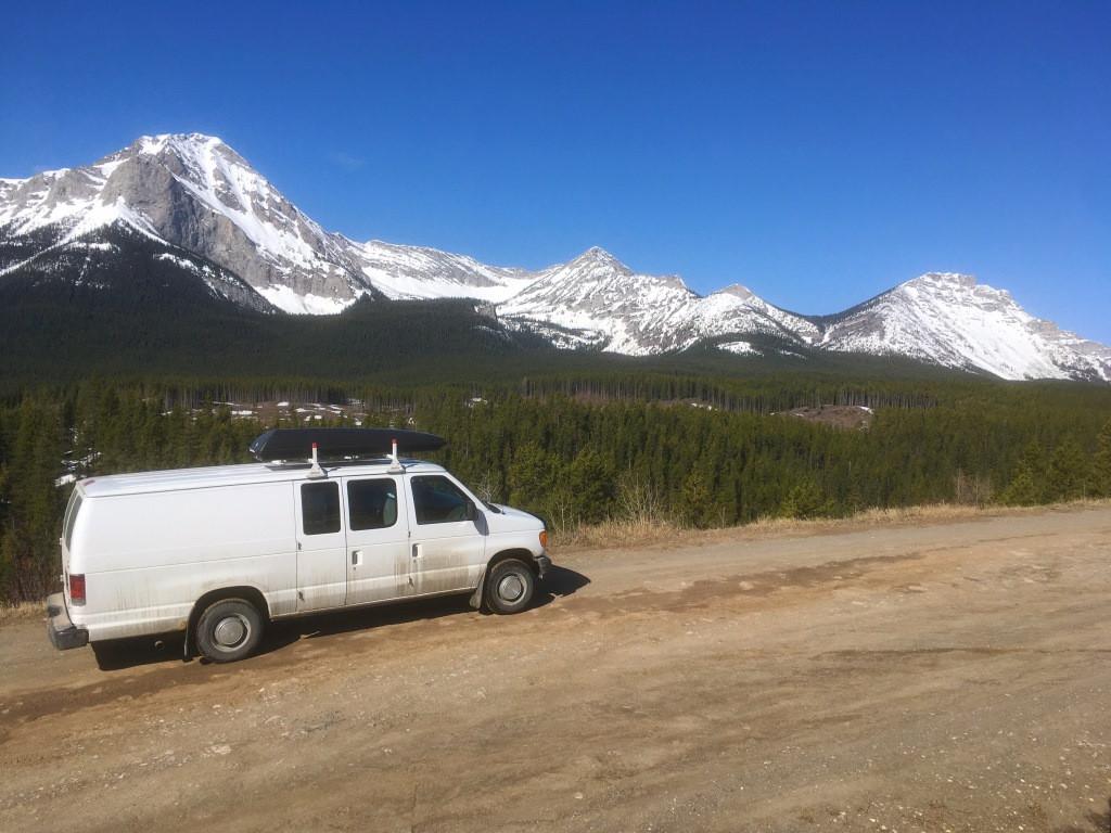 Voyages dans les glaciaires en Alberta