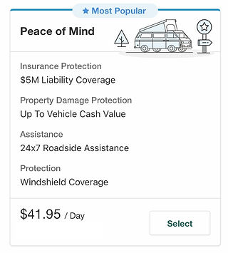 Peace of Mind Insurance Package is the best coverage offer by NATS
