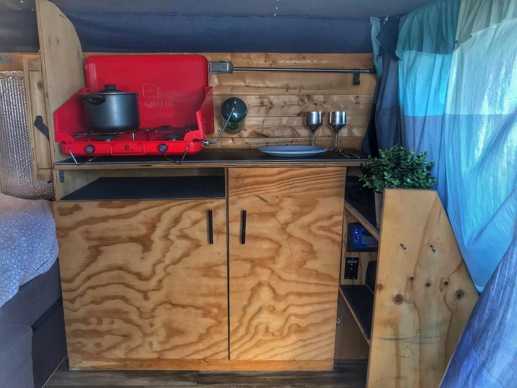 Vanlife Kitchen experience