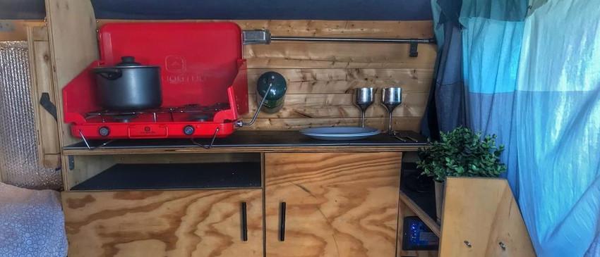 Vanlife Kitchen experience