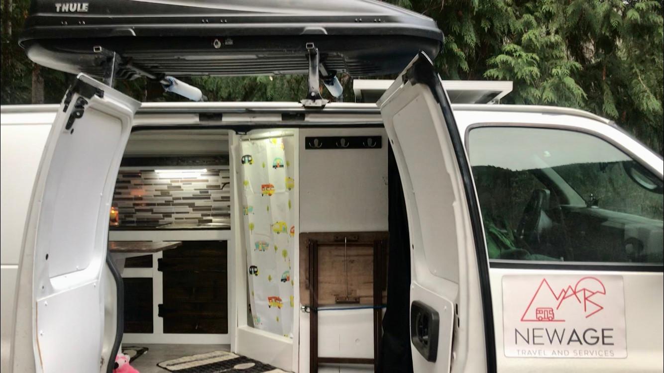 Welcome to the camper van life