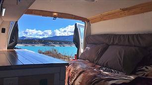 Spiritual Nomad camper van rental in Calgary