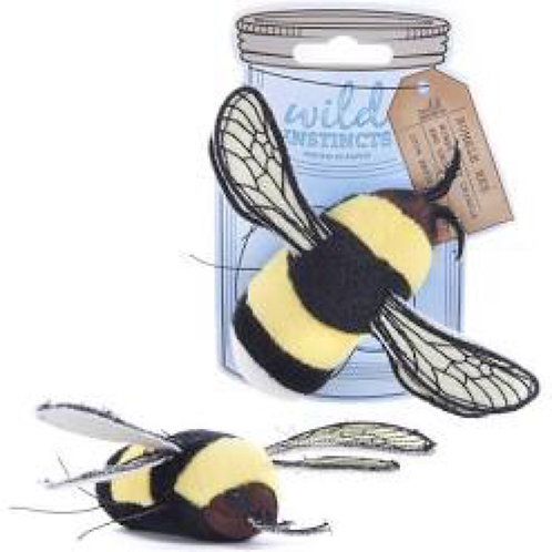 Sharples Pet Bumble Bee With Catnip