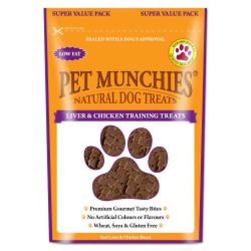 Pet Munchies Liver and Chicken Training Treats