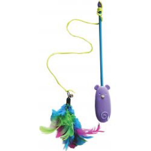 Cat Laser and Feather Toy