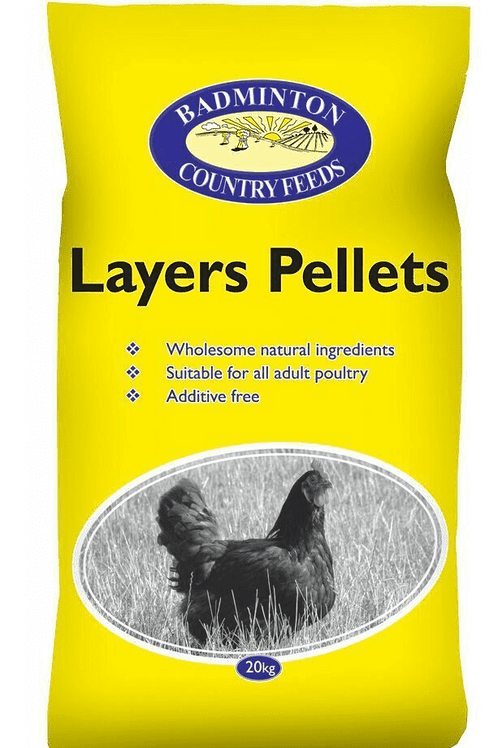 Badminton Layers Pellets 20kg