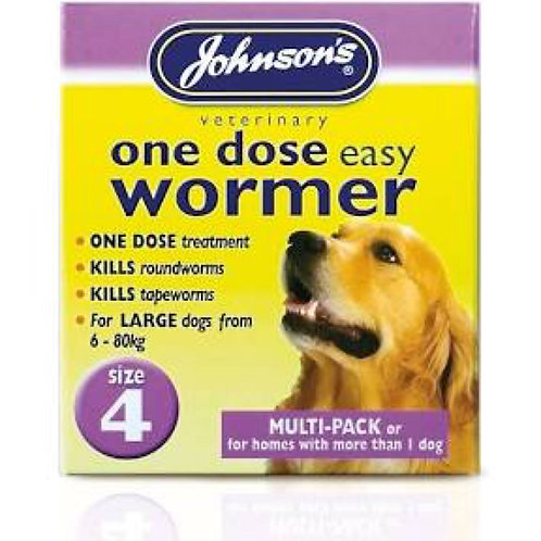 Johnson's Easy Wormer Size 4