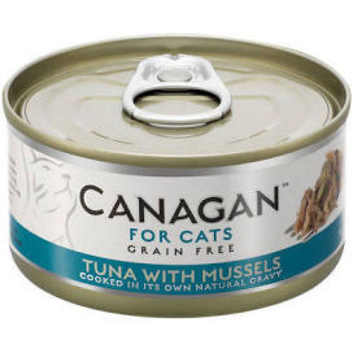 Canagan Cat Can Tuna x Mussels 75g
