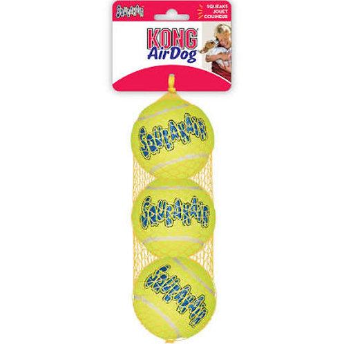 KONG Air Squeakair Tennis 3 x MED Ball Set