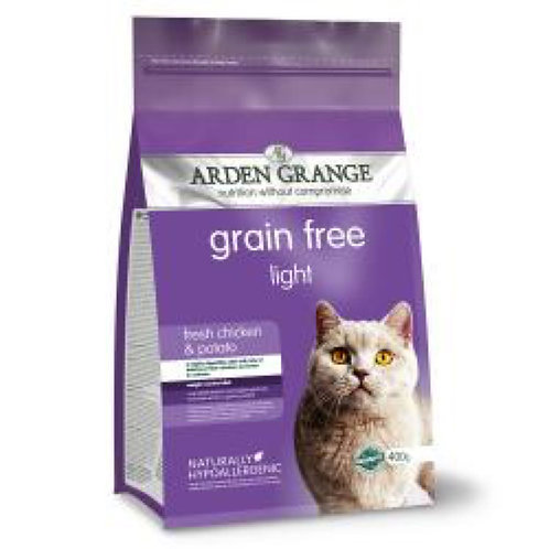 Arden Grange Cat Grain Free Light Chick x Potato 2kg