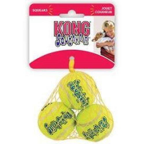 KONG AirDog Squeakair 3 x SML Ball Set