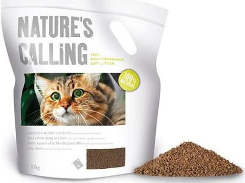 Natures Calling 100% Bio Litter 6kg