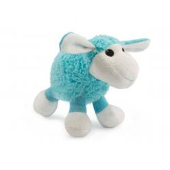 Blue Plush Lamb Toy