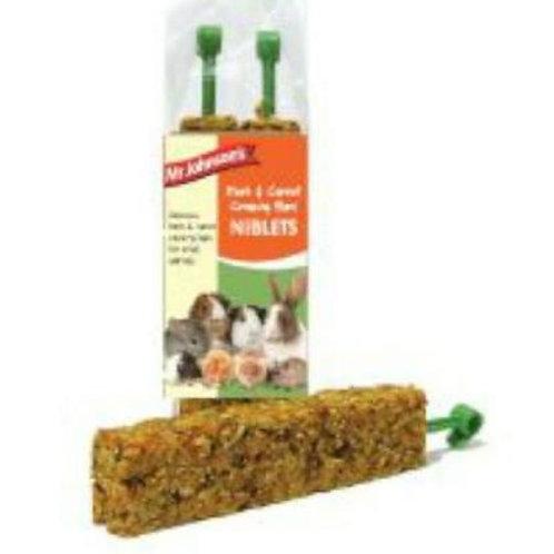 Herb Carrot Crunchy Bars Niblets
