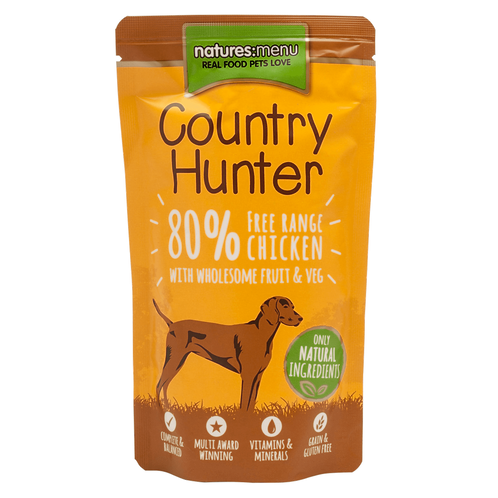 Country Hunter Free Range Chicken Box of Pouches
