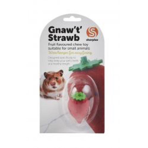 Small 'N' Furry Gnaw 'T' Strawberry