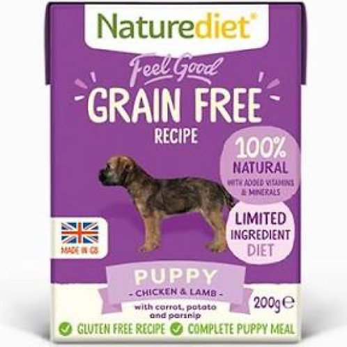 Naturediet Feel Good Grain Free Puppy 200g