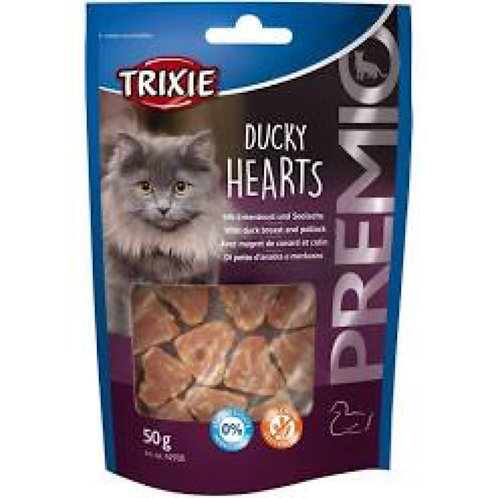 Trixie Ducky Hearts Cats